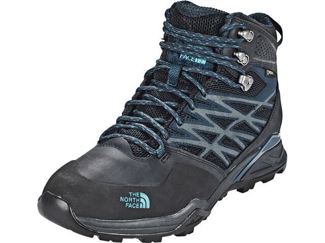 The North Face Hedgehog Hike Mid GTX Chaussures Homme, phantom grey/boulder blue